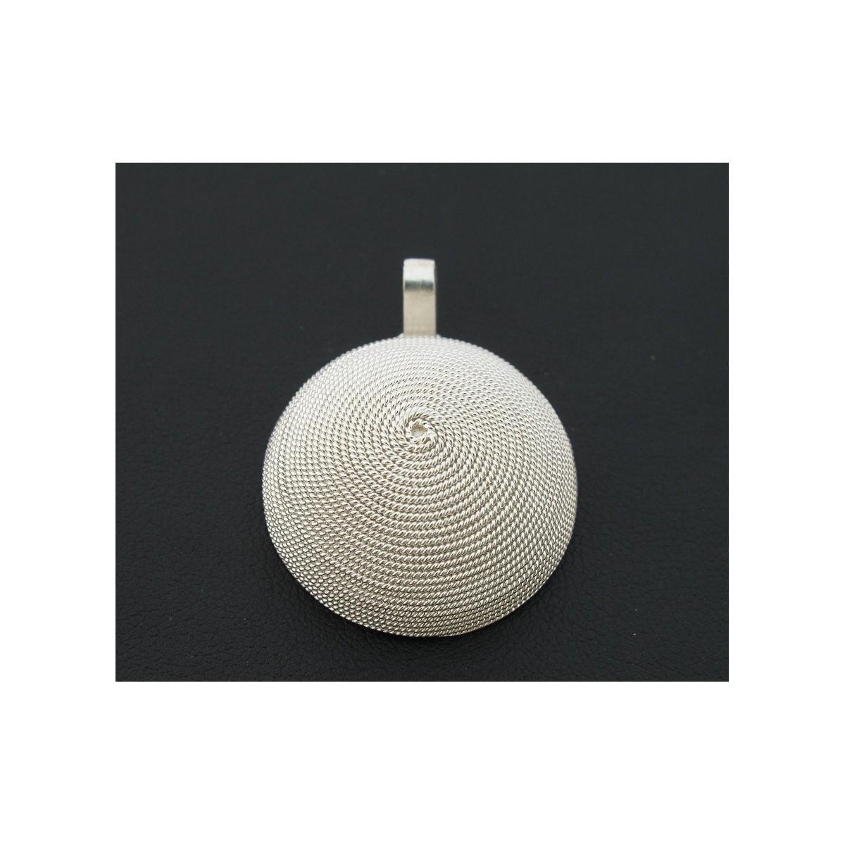 ciondolo filigrana argento corbula liscio Cn00