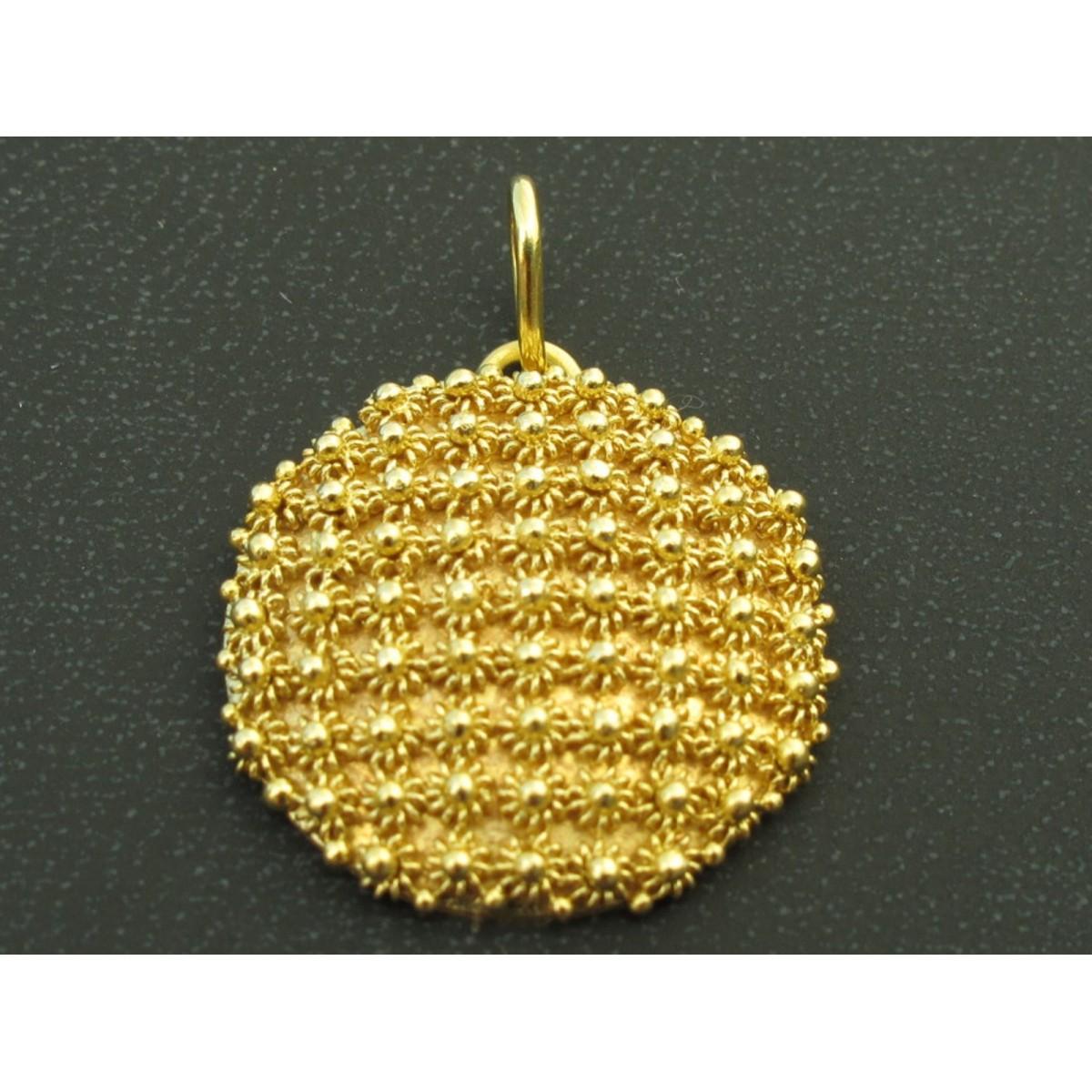 Ciondolo oro 750%