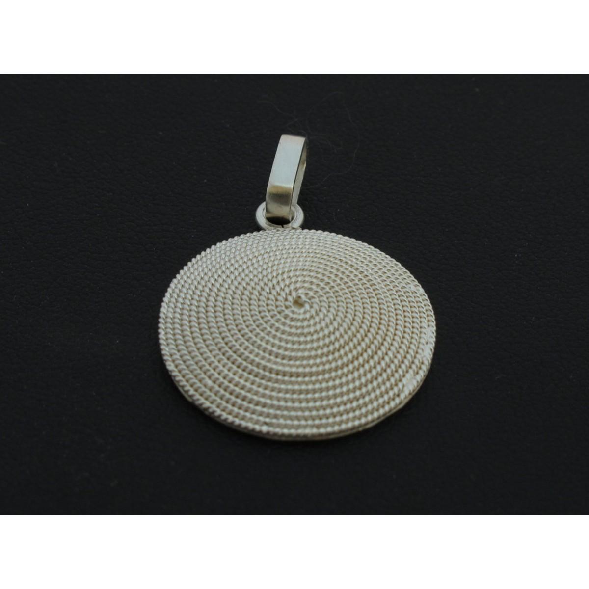 Ciondolo argento filigrana sarda Cna5
