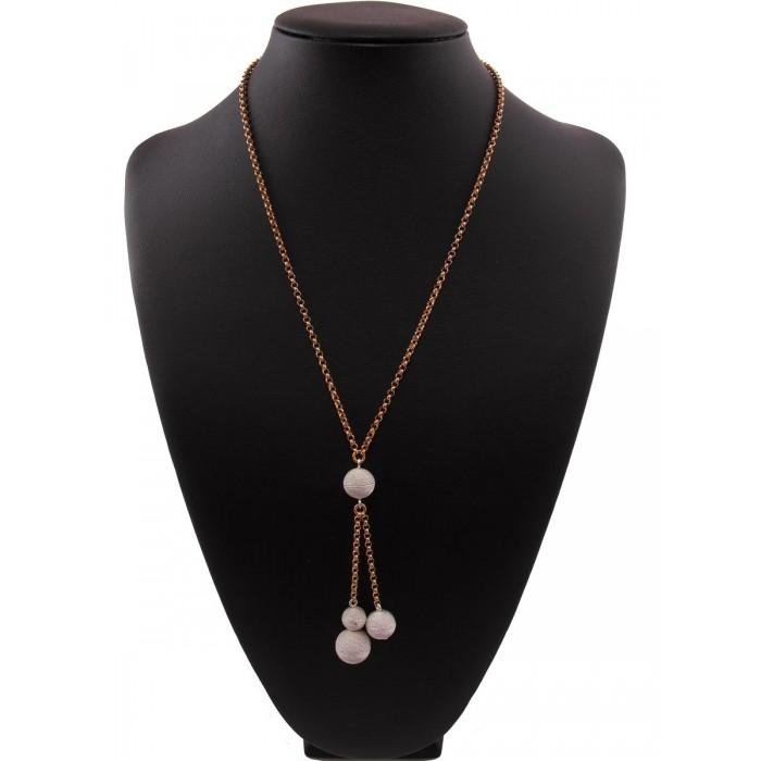 Collana argento filigrana sarada rosa