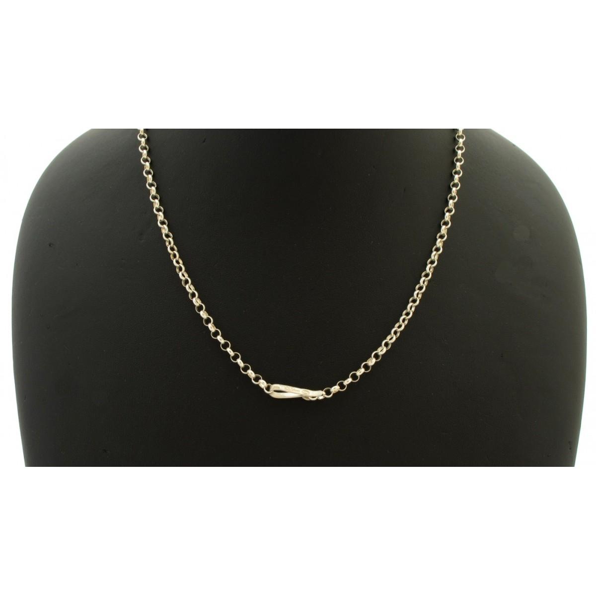 collana semplice argento